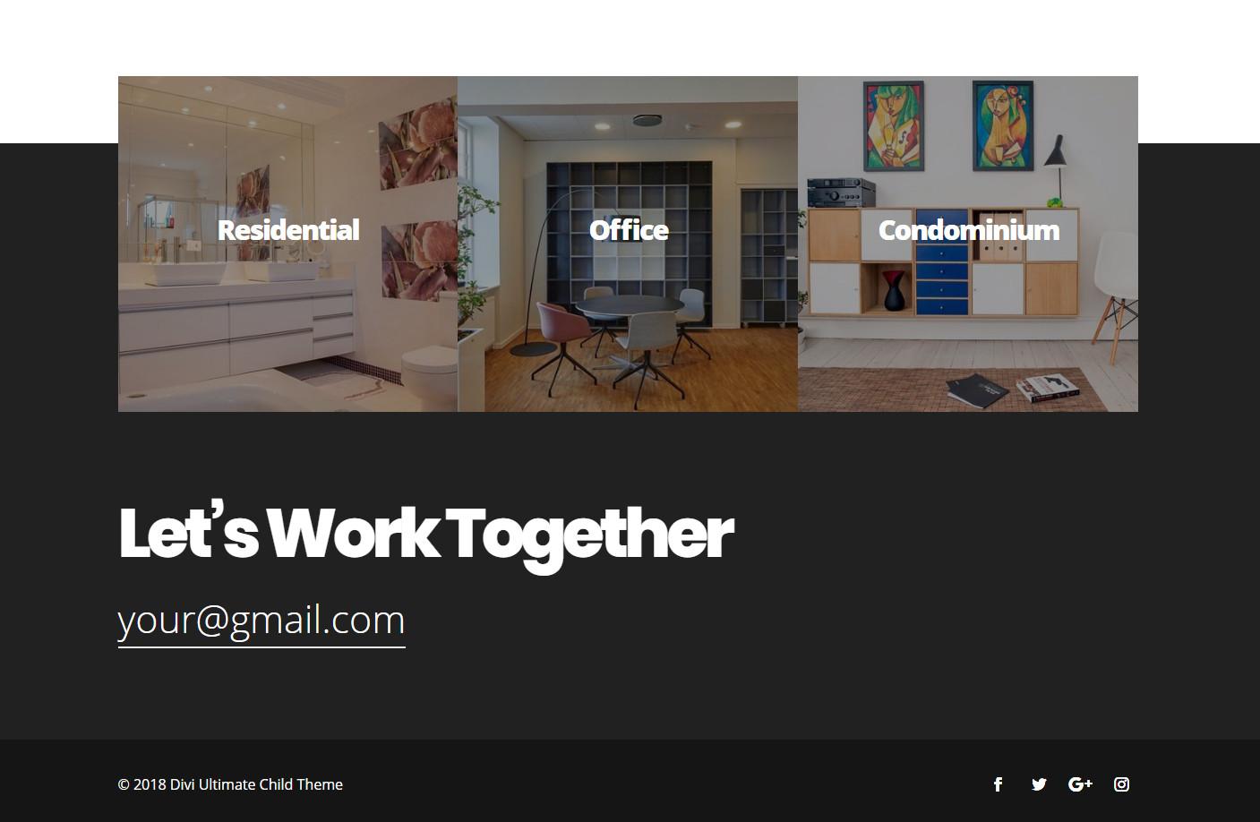 Divi Ultimate Footer Plugin | Design Divi Custom Footer Globally